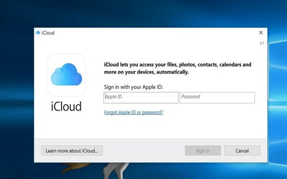 download picture from icloud through apple id