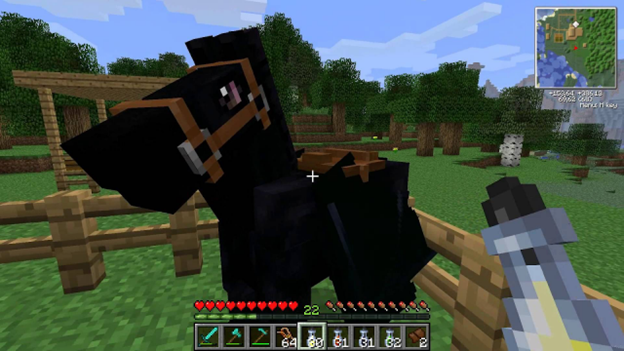 How To Tame A Horse In Minecraft?
