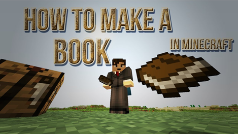 How to Make Book in Minecraft